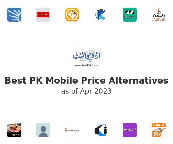 Best PK Mobile Price Alternatives