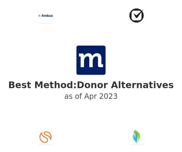 Best Method:Donor Alternatives