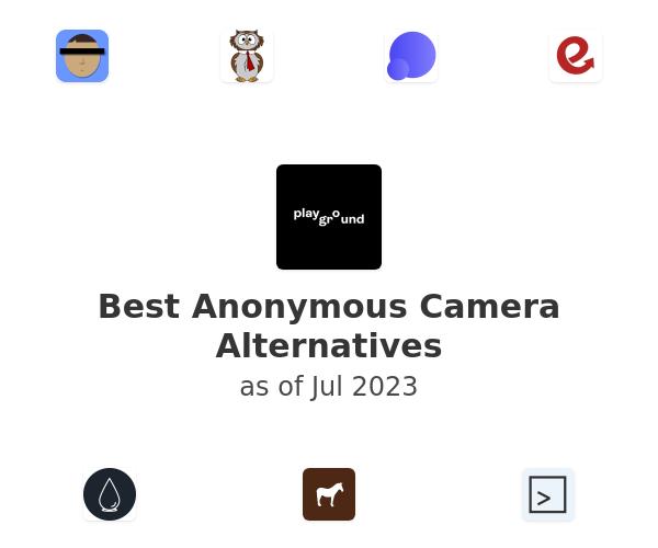 Best Anonymous Camera Alternatives