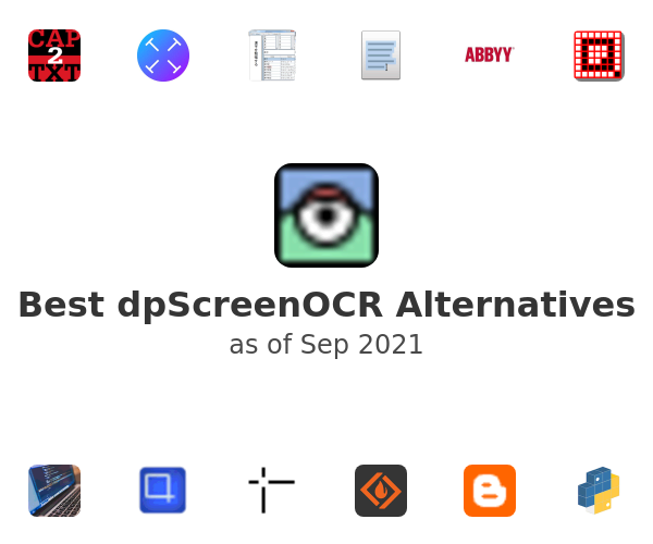 Best dpScreenOCR Alternatives