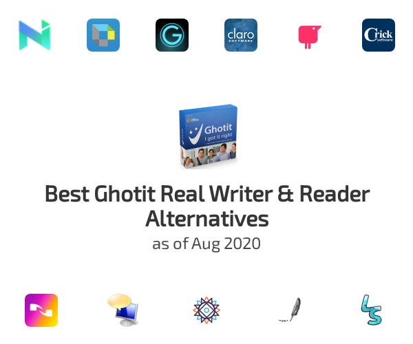 Best Ghotit Real Writer & Reader Alternatives
