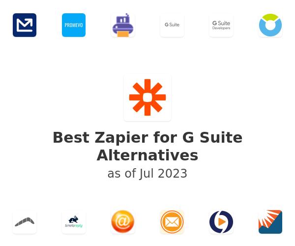 Best Zapier for G Suite Alternatives