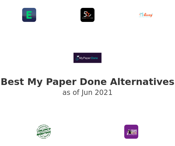 Best My Paper Done Alternatives