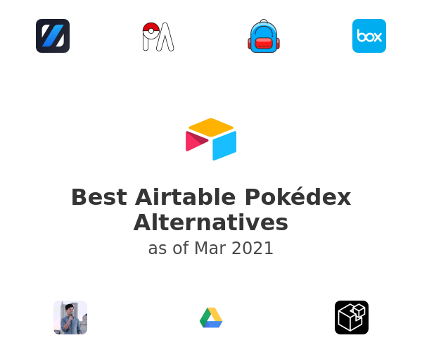 Best Airtable Pokédex Alternatives