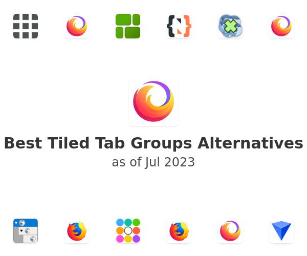 Best Tiled Tab Groups Alternatives
