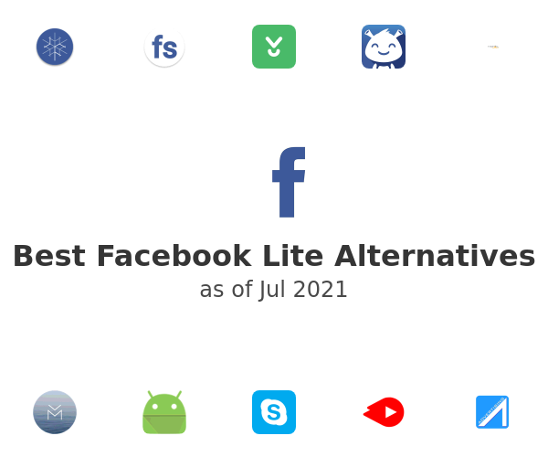 Best Facebook Lite Alternatives