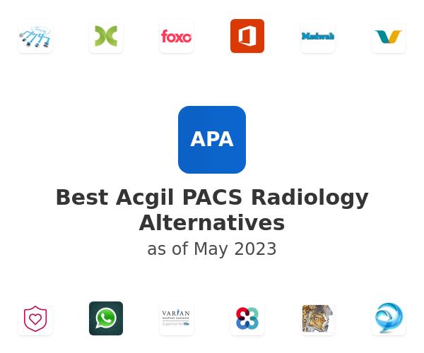 Best Acgil PACS Radiology Alternatives
