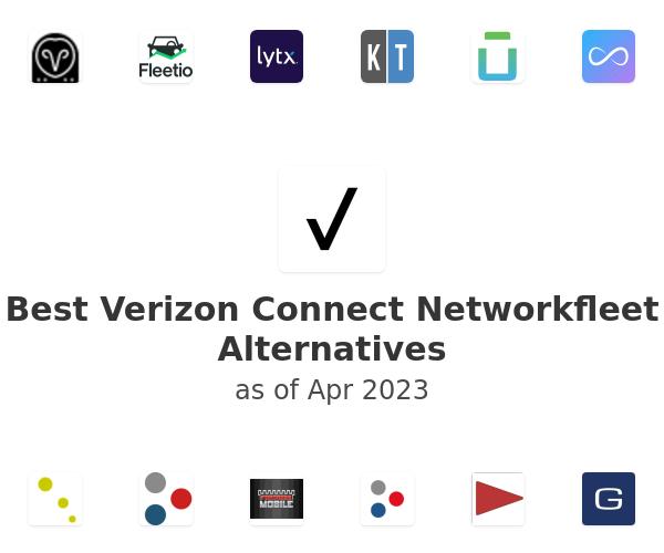 Best Verizon Connect Networkfleet Alternatives