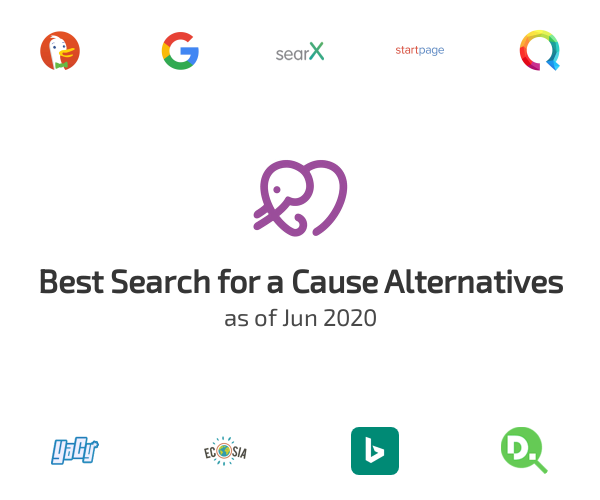 Best Search for a Cause Alternatives