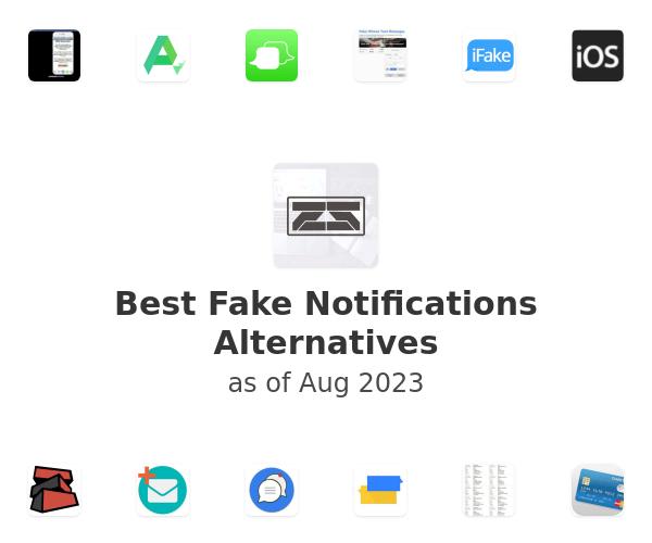 Best Fake Notifications Alternatives