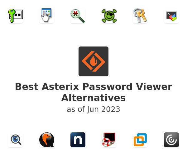 Best Asterix Password Viewer Alternatives