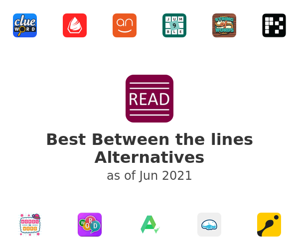 Best Between the lines Alternatives