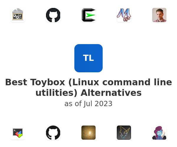 Best Toybox (Linux command line utilities) Alternatives