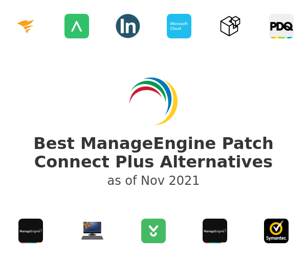 Best ManageEngine Patch Connect Plus Alternatives
