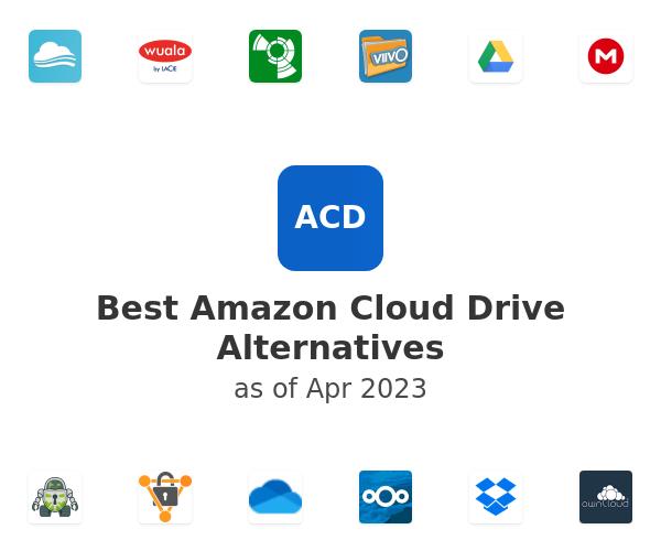 Best Amazon Cloud Drive Alternatives