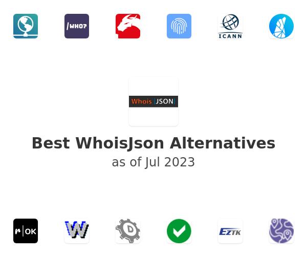 Best WhoisJson Alternatives