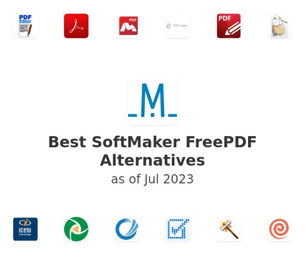 Best SoftMaker FreePDF Alternatives