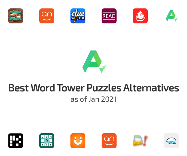 Best Word Tower Puzzles Alternatives