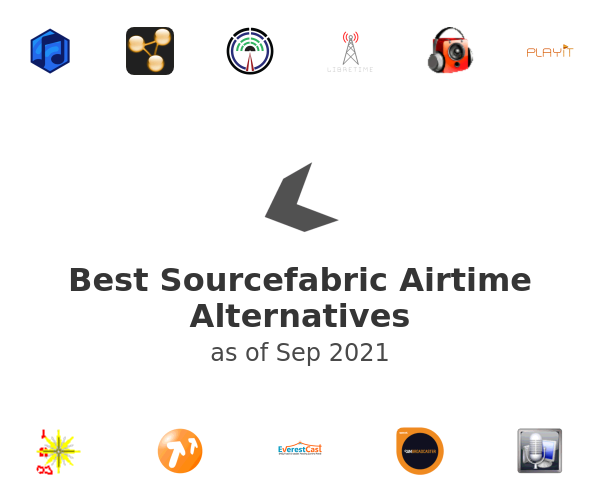 Best Sourcefabric Airtime Alternatives