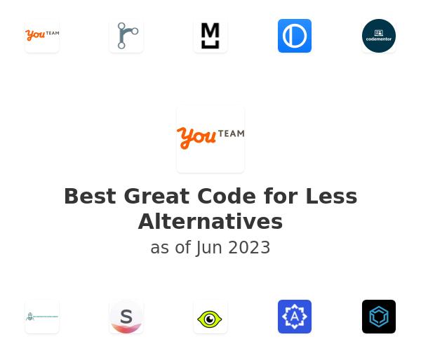 Best Great Code for Less Alternatives
