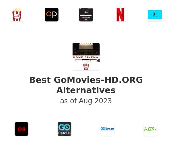 Best GoMovies-HD.ORG Alternatives