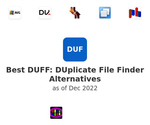Best DUFF: DUplicate File Finder Alternatives