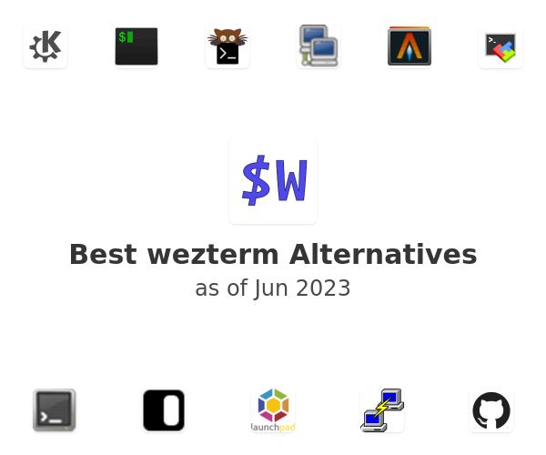 Best wezterm Alternatives