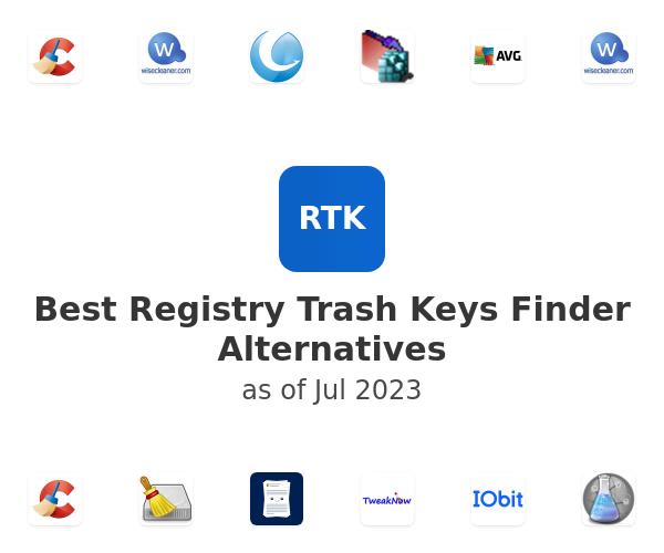 Best Registry Trash Keys Finder Alternatives