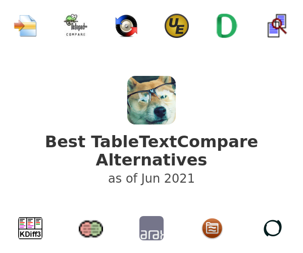 Best TableTextCompare Alternatives