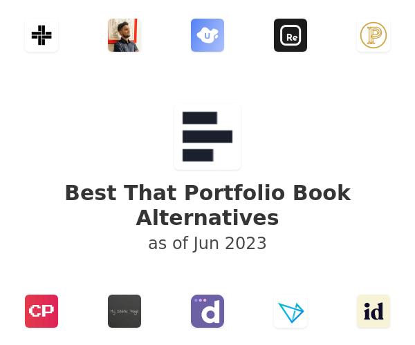 Best That Portfolio Book Alternatives