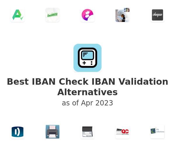 Best IBAN Check IBAN Validation Alternatives