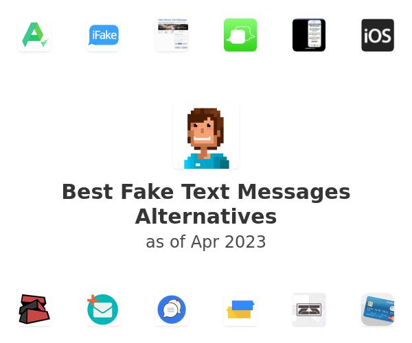 Best Fake Text Messages Alternatives