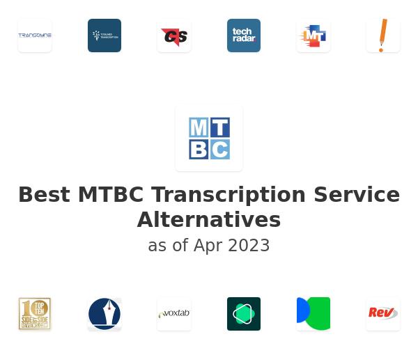 Best MTBC Transcription Service Alternatives