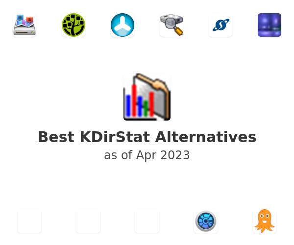 Best KDirStat Alternatives