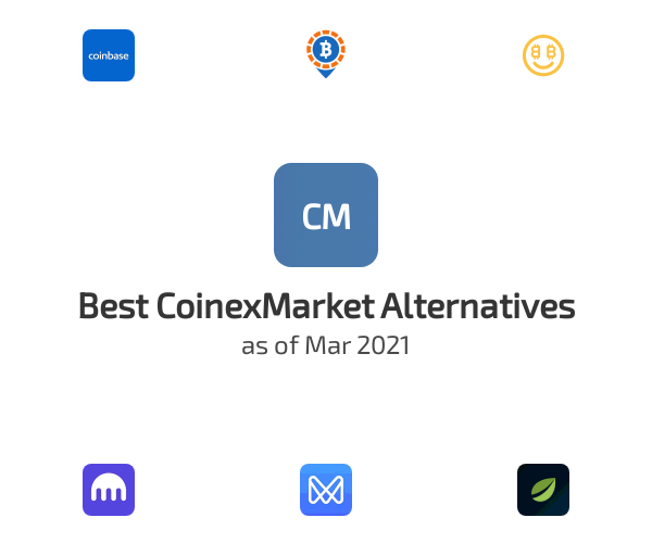Best CoinexMarket Alternatives