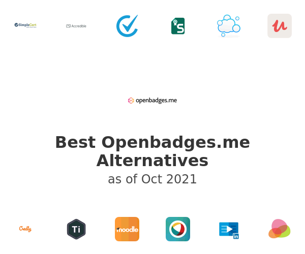 Best Openbadges.me Alternatives