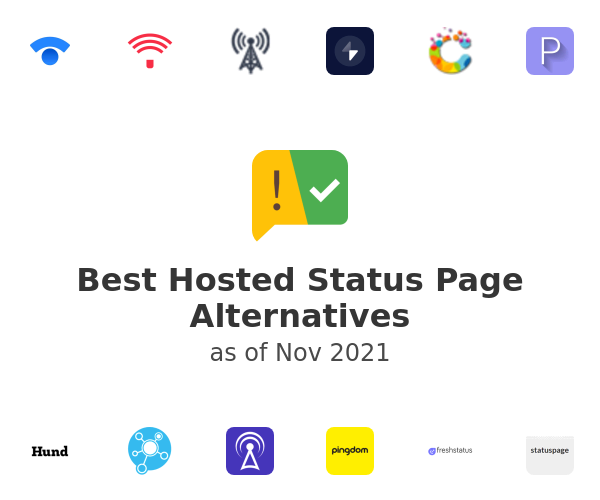 Best Hosted Status Page Alternatives