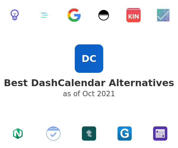 Best DashCalendar Alternatives