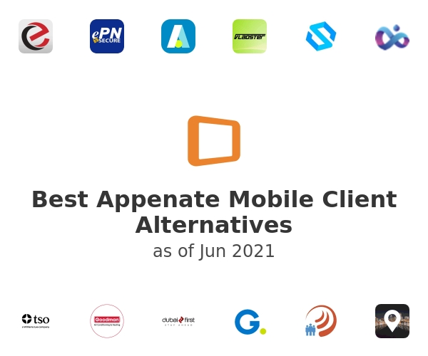 Best Appenate Mobile Client Alternatives