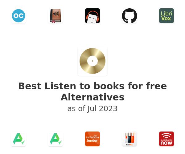 Best Listen to books for free Alternatives