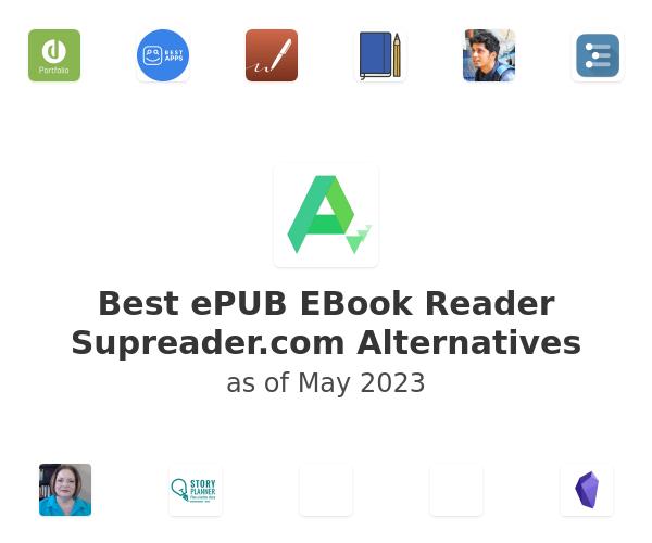 Best ePUB EBook Reader Supreader.com Alternatives