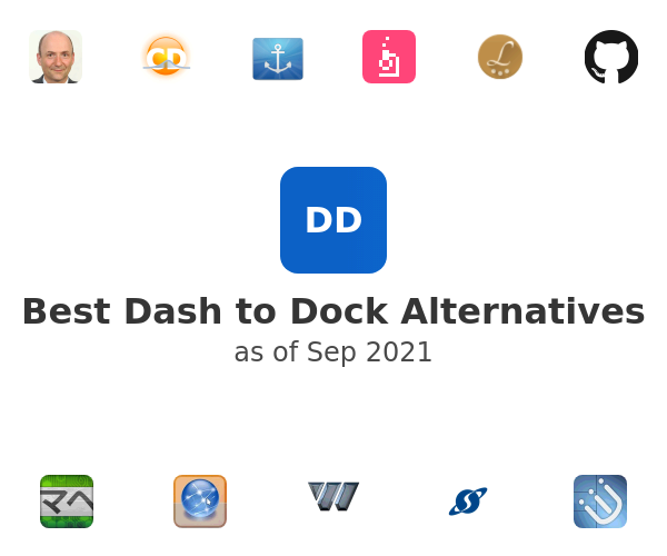 Best Dash to Dock Alternatives