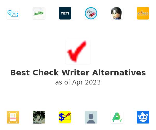 Best Check Writer Alternatives