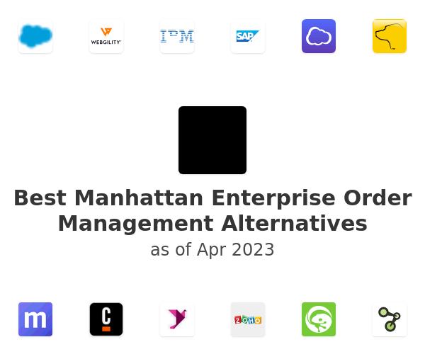 Best Manhattan Enterprise Order Management Alternatives