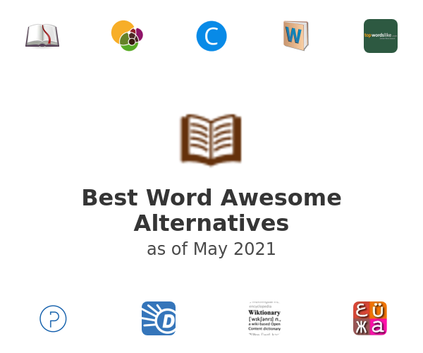 Best Word Awesome Alternatives