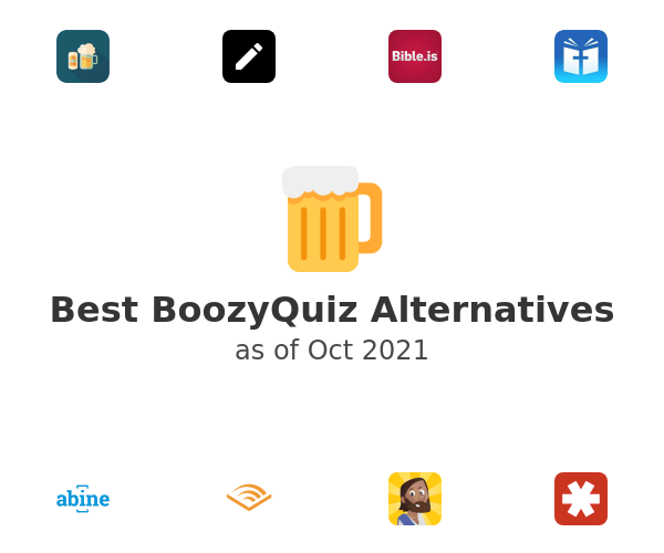 Best BoozyQuiz Alternatives