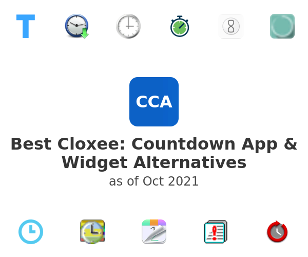 Best Cloxee: Countdown App & Widget Alternatives