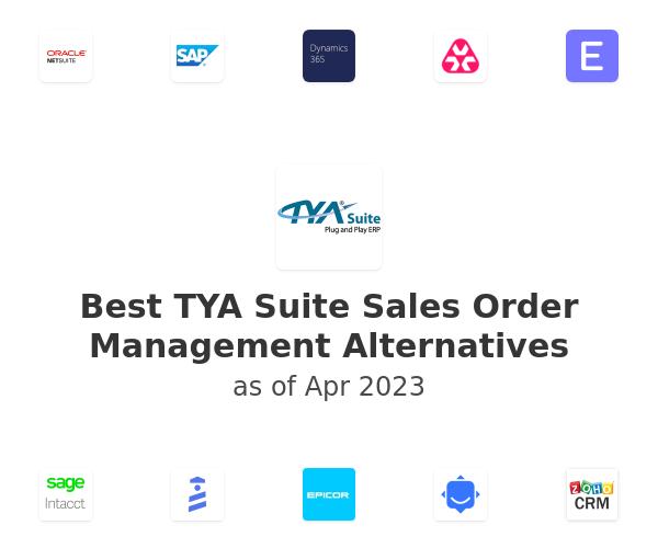 Best TYA Suite Sales Order Management Alternatives