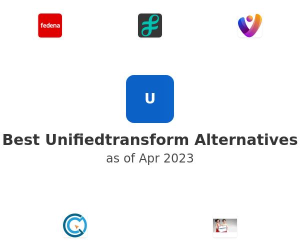 Best Unifiedtransform Alternatives