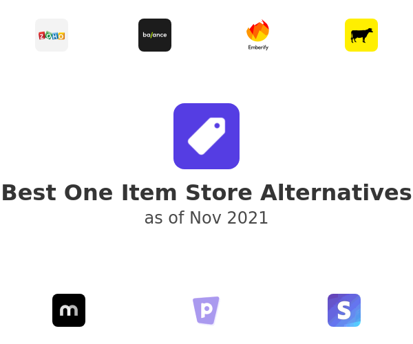 Best One Item Store Alternatives